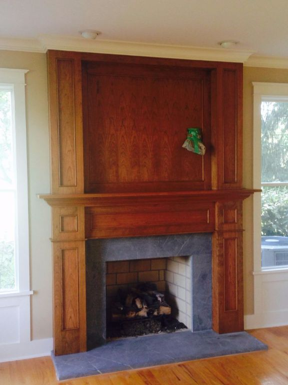 MKI Custom Trimwork and Painting - Fireplace Mantels ...